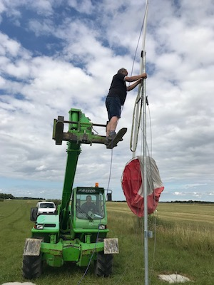 Installation de la manche à air